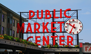 pike place market - downtown seattle attractions