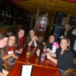 girls night out in seattle at the irish bar
