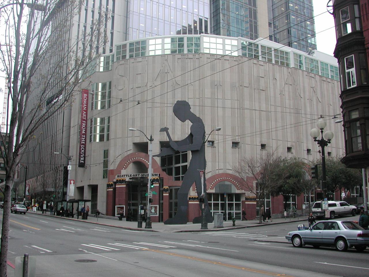 Seattle Art Museum - downtown seattle