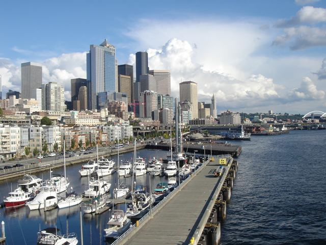 Seattle Waterfront from Bell Street Pier