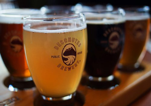 Deschutes Brewery award winning craft beer and hand crafted ales in Oregon with breweries, restaurants and brew pubs in Bend and Portland Oregon.